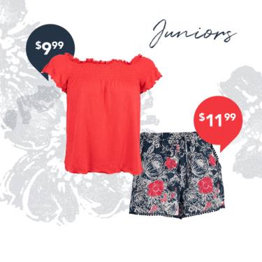 Flowy, Floral Shorts