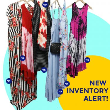 new inventory alert