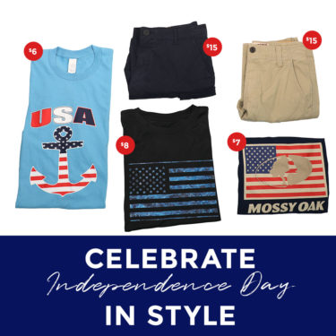 Patriotic Fourth of July Looks for Men